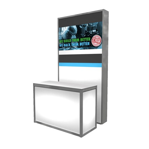 "48"" x 72"" Light-Box Kiosk"