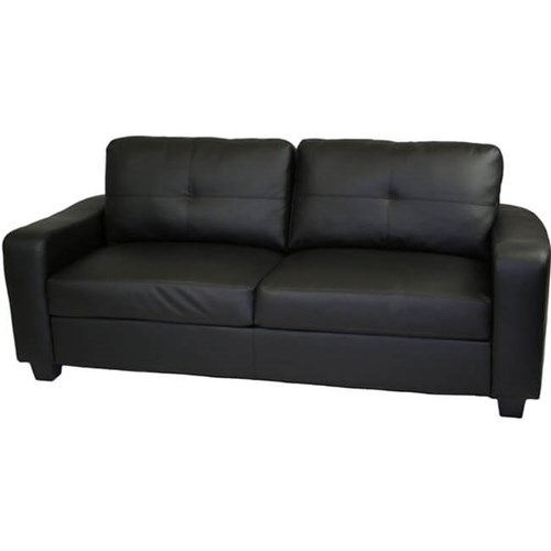 "78"" Madrid Leather Sofa"