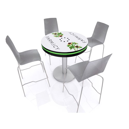 "36"" Round Charging Bistro Table"